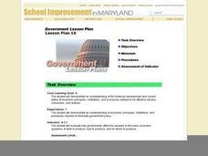 Government Lesson Plan 16 Lesson Plan