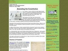 Amending the Constitution Lesson Plan