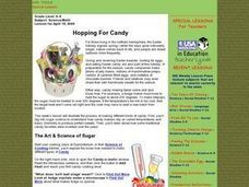 Hopping For Candy Lesson Plan