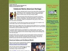 Celebrate Native American Heritage Lesson Plan