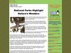 National Parks Highlight Nature's Wonders Lesson Plan