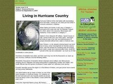 Living in Hurricane Country Lesson Plan