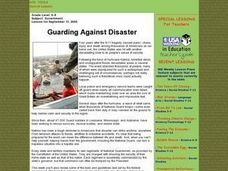 Guarding Against Disaster Lesson Plan