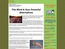 The Wind & Sun: Powerful Alternatives Lesson Plan