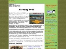 Farming Food Lesson Plan