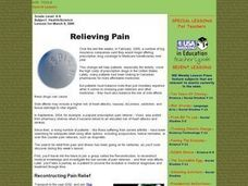 Relieving Pain Lesson Plan