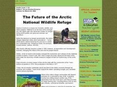 The Future of the Arctic National Wildlife Refuge Lesson Plan