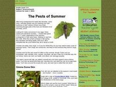 The Pests of Summer Lesson Plan