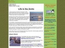 Life in the Artic Lesson Plan