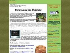 Communication Overload Lesson Plan