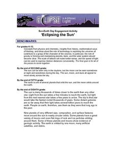 'Eclipsing the Sun' Lesson Plan