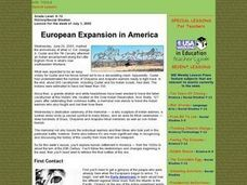 European Expansion in America Lesson Plan