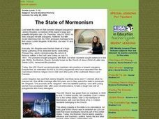 The State of Mormonism Lesson Plan