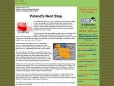 Poland's Next Step Lesson Plan