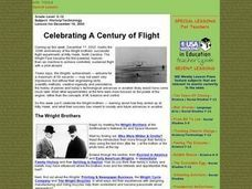 Celebrating A Century of Flight Lesson Plan