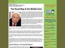 The Road Map & the Middle East Lesson Plan