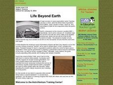 Life Beyond Earth Lesson Plan