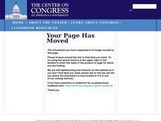 How to Become a Member of Congress Lesson Plan