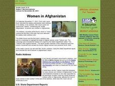 Women in Afghanistan Lesson Plan