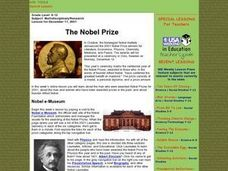 The Nobel Prize Lesson Plan