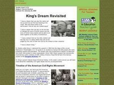 King's Dream Revisited Lesson Plan