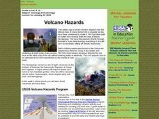 Volcano Hazards Lesson Plan
