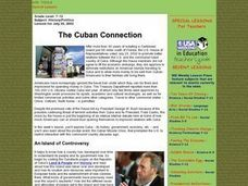 The Cuban Connection Lesson Plan