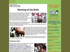 Running of the Bulls Lesson Plan