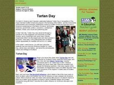 Tartan Day Lesson Plan