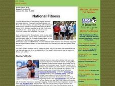 National Fitness Lesson Plan
