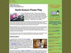 North Korea's Power Play Lesson Plan
