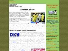 Anthrax Scare Lesson Plan