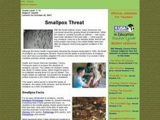 Smallpox Threat Lesson Plan
