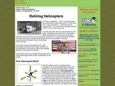 Retiring Helicopters Lesson Plan