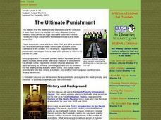 The Ultimate Punishment Lesson Plan