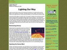 Lighting Our Way Lesson Plan