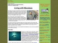 Living with Manatees Lesson Plan