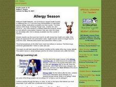 Allegry Season Lesson Plan