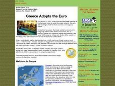 Greece Adopts the Euro Lesson Plan