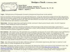 Design a Track Lesson Plan