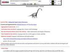 Asking the Expert about Dinosaurs Lesson Plan
