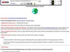 Around the World Alphabet Book Lesson Plan