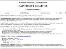 Rainforest Realities Lesson Plan