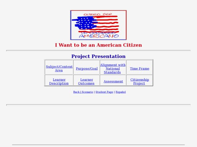 I Want to be an American Citizen Lesson Plan