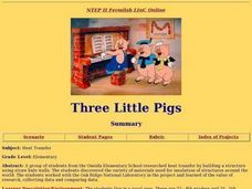 Three Little Pigs and Heat Transfer Lesson Plan