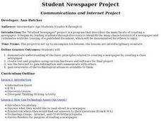 Student Newspaper Project Activities & Project