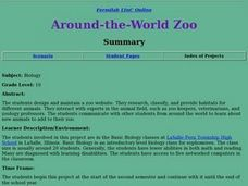Around-The-World-Zoo Lesson Plan