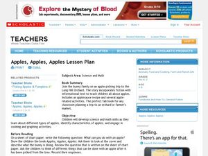 Apples! Apples! Apples! Lesson Plan