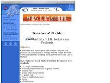 Rockets and Payloads Lesson Plan
