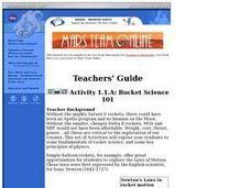 Rocket Science 101 Lesson Plan